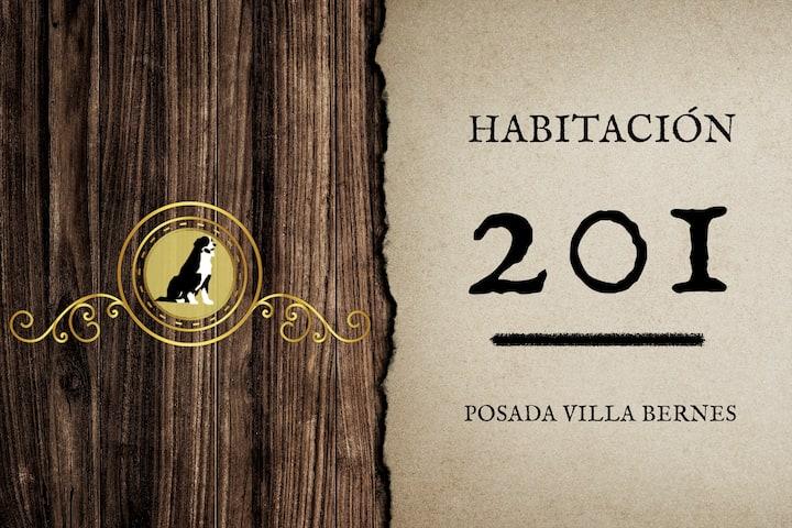 HABITACION 201 POSADA VILLA BERNES