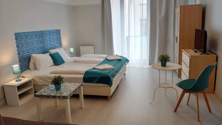 Agape Apartments - Superior Studio with Balcony