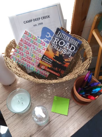 Guestbook & activities on the Delmarva!