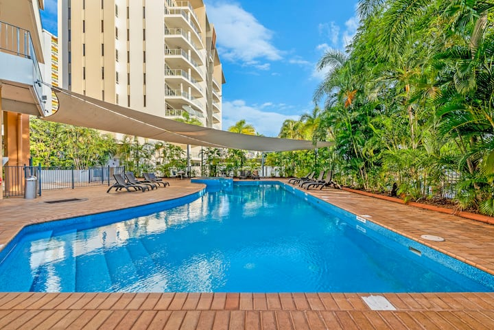 Soak up the Sun Poolside: Retreat on the Esplanade