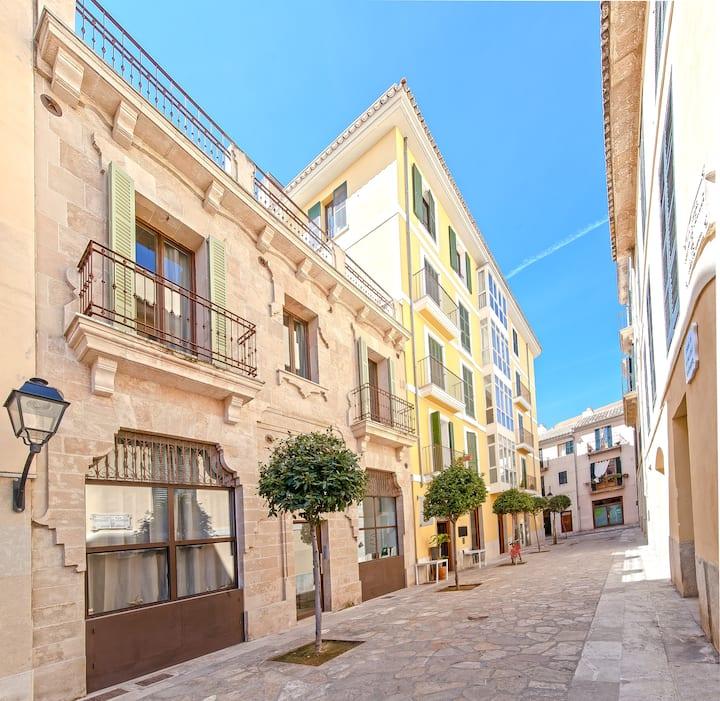 Can Blau-4. Apartamento en el centro de Palma