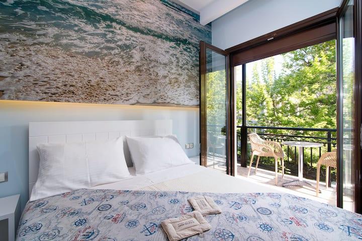 Kamelia Hotel - Standard Room with Side Sea View