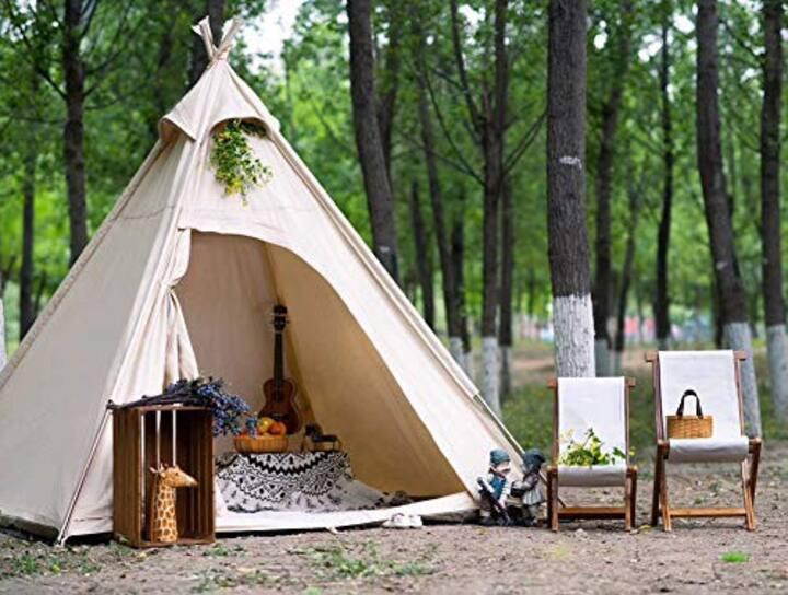 ZION Glamping TENT Camping Kits! PET/KID Friendly!