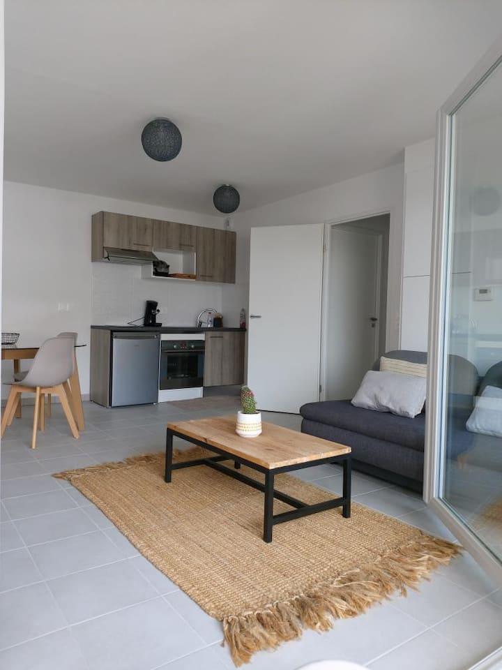 Bel appartement Biscarosse