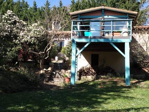 Gîte en pleine nature - Parc, Piscine, Jacuzzi