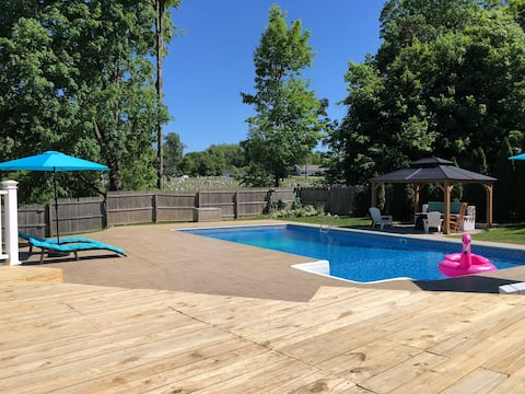 Summer Getaway w/ Private Pool! 1 hour from NYC