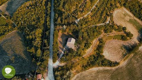 Villa Cerfoglio, pace sulle colline romagnole