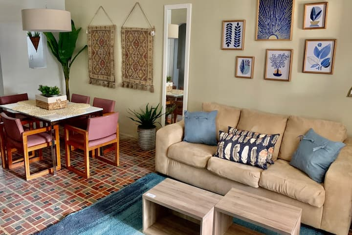 CASA BOHEMIA at Condado 3BR/1BA/AC +WIFI & PARKING