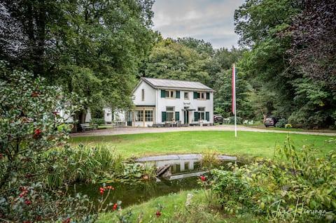Landhuis De Hoef: logeren aan de bosrand 🦌