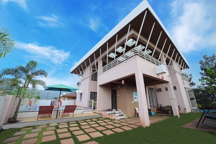 4 BHK Golden Bells Bungalow with Swimming Pool