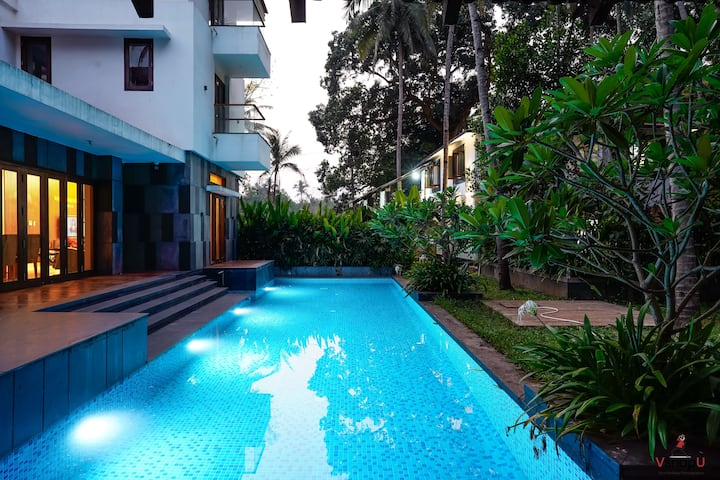 Luxurious 3BHK Villa with a Pool in Goa