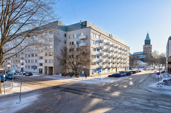 Bright apartment at the heart of Turku