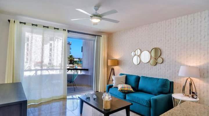 Cute 1 bedroom suite on Medano Beach: Sat-Sat only