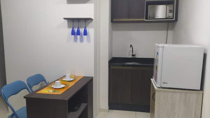Apartamento Cantinho Completo -Centro de Curitiba