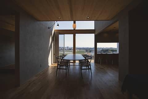【YHouse】 阿蘇山が見える五右衛門風呂がある民泊でゆっくり過ごす。