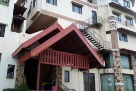 Main entrance to condo unit