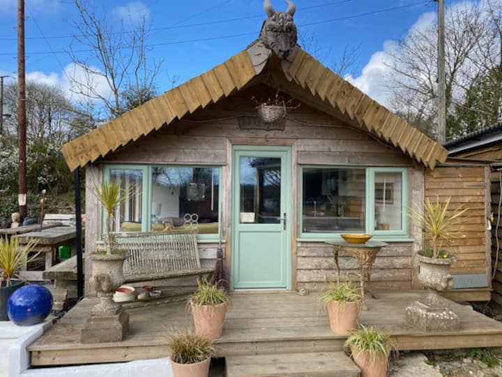 Unique self contained chalet with its own garden