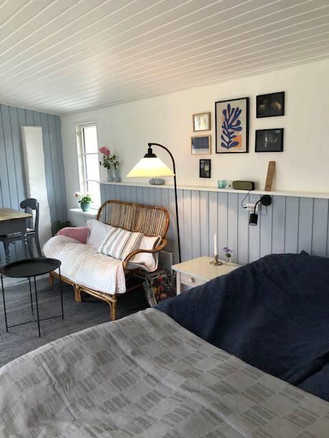Nieuw guesthouse in klein dorp