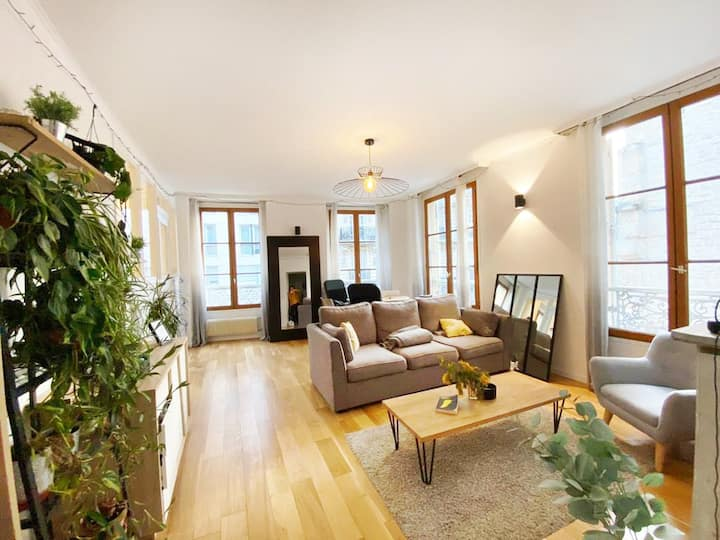 Room in a Bright renovated apartment in Bastille