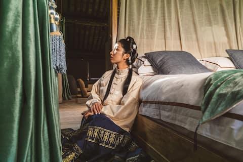 【下南山下】古朴素雅的LOFT大床房