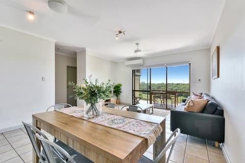 Elegant third floor unit with sweeping views