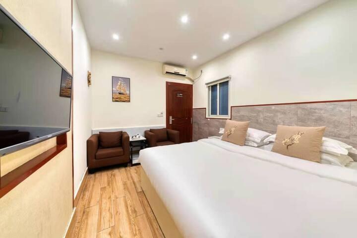 西塘古镇景区内烟雨长廊520大床房