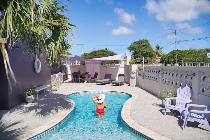 Wonderful Caribbean apartments in Oranjestad