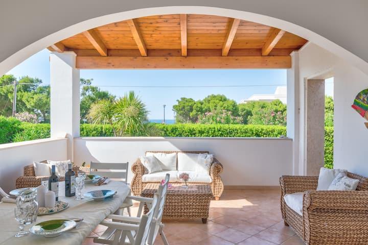 Villa Costa Merlata - unifamiliare - sea view