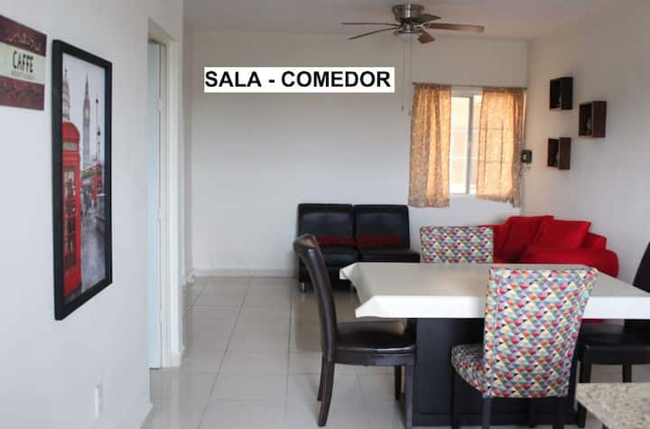 El Depa - Equipped, Well-Located & clean @Tampico