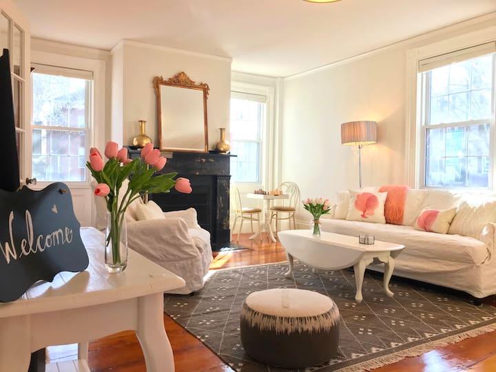 The Samuel Symonds House: Olde charm, New comfort.