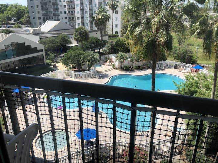 Universal Area-2 BR/2 BATH-Pool View Condo-sleep 6