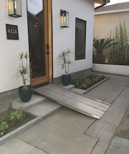 Front Entrance with Portable Ramp