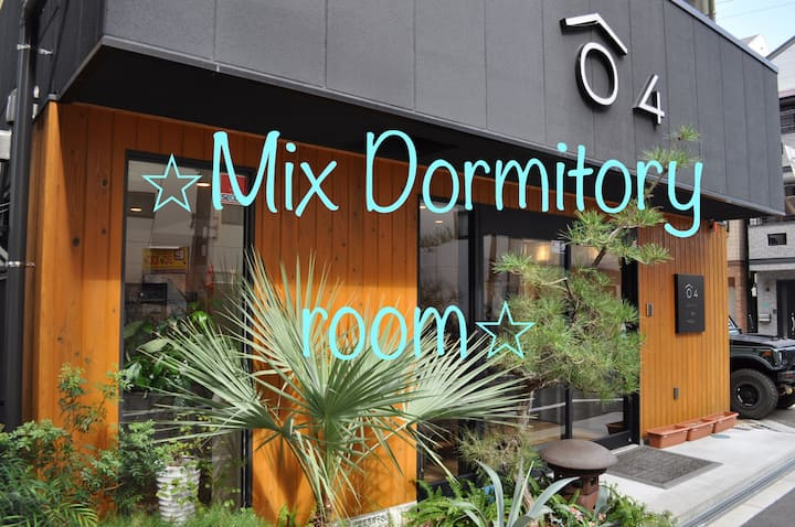 Airbnb limited plan with amenities! Mix dormitory