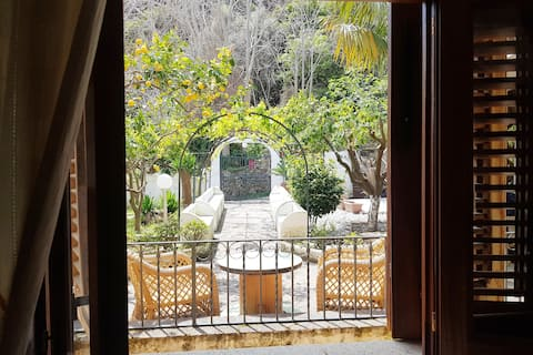 Vakantiehuis met tuin