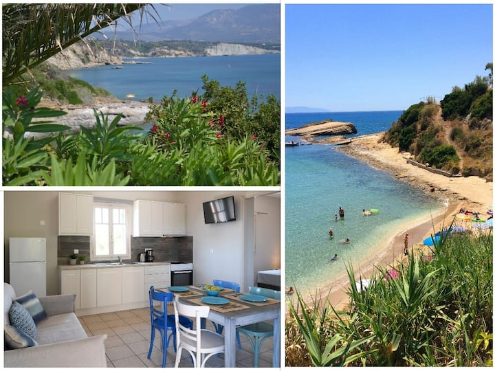 Kefalonia apartments, Spartia: 1 bedroom apartment