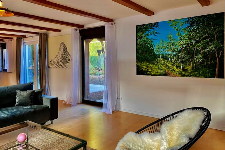 Wasgau-Lodge: Viel Platz in zentraler Lage