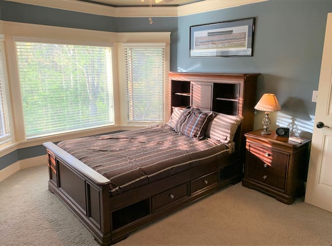 Bedroom 4 - Double bed.  Located on the upper level.
