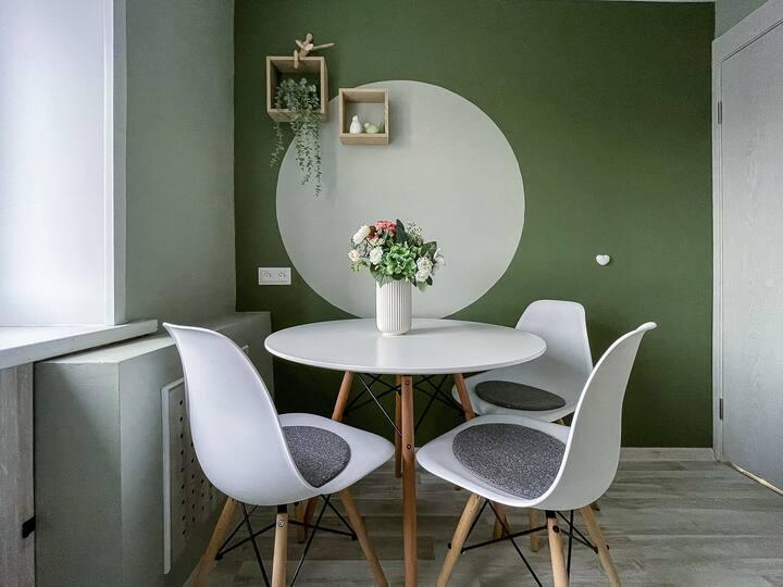 Оливковый оазис для работы и отдыха