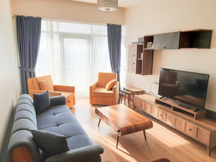 Stylish 1 bedroom apartment at Mall of Istanbul