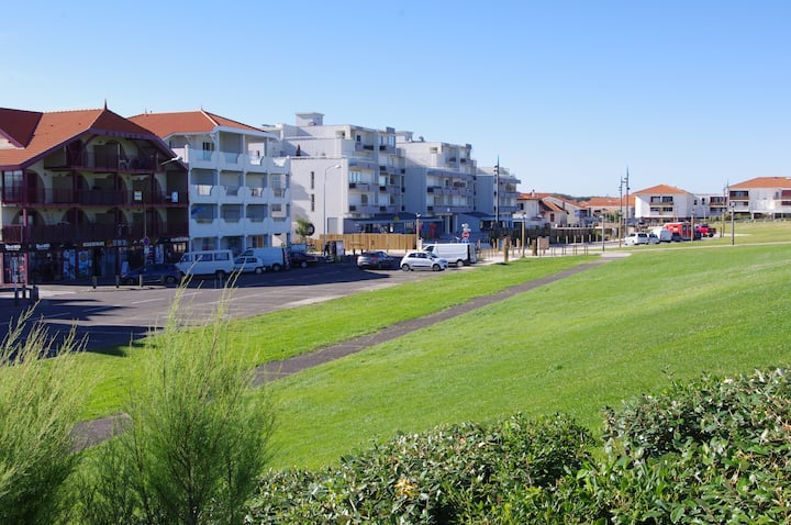 Appartement en plein centre Biscarrosse Plage