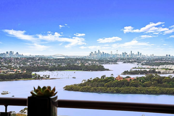 Top-level with massive Sydney CBD view Apartment