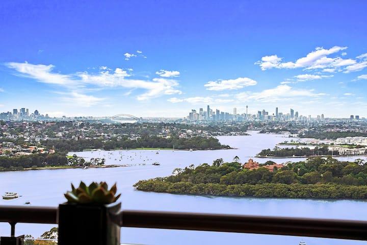 Top-level with massive Sydney CBD view Apartment