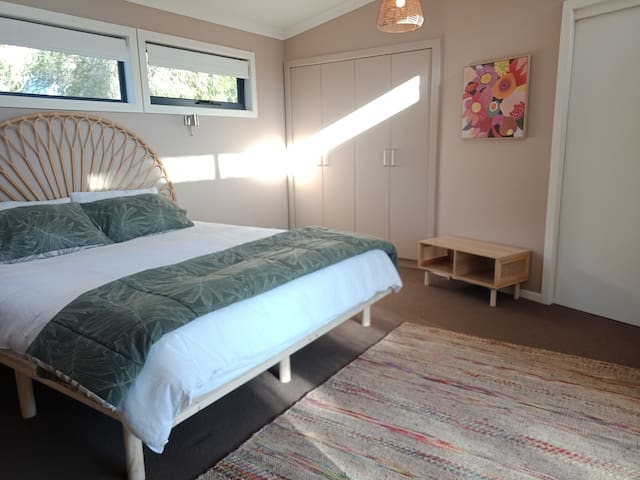 One of three king size bedrooms, one of two with an ensuite.