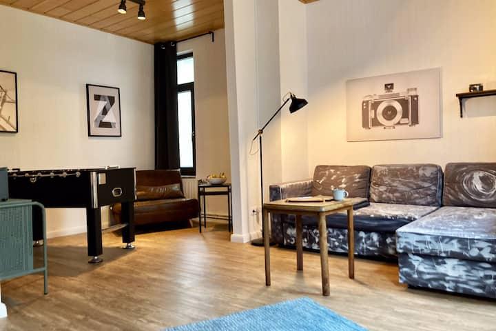 💙 Das blaueTürchen 💙 Wohnung mit Beamer und Kicker