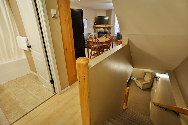 stairs leading to basement