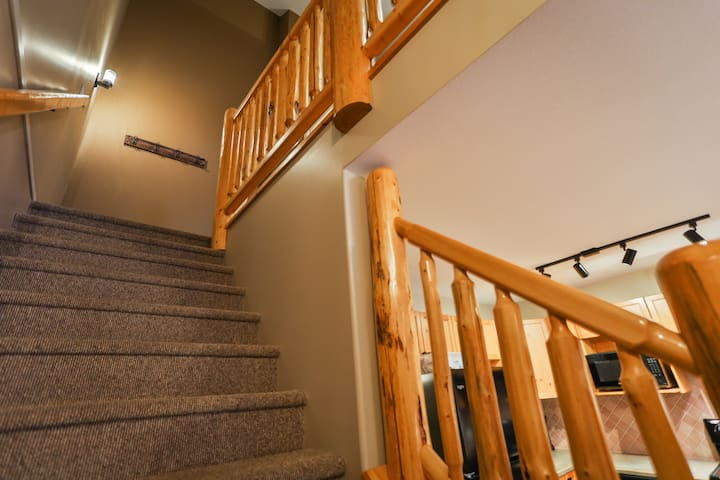 stairs leading to master bedroom