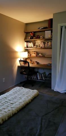 Desk in Bedroom 2 on 2nd Floor