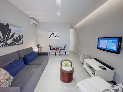 Modern appartement in Ipanema! Naast het strand !