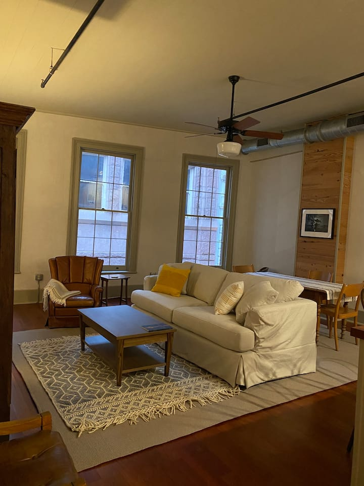 Spacious 2 Bdrm in the Old Edison Phonograph Bldg