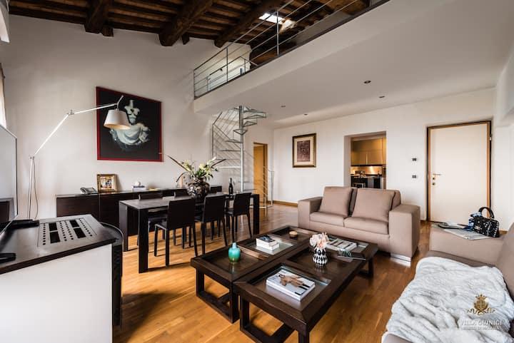 Villa Guinigi - Apartment Deluxe 3 camere e vista